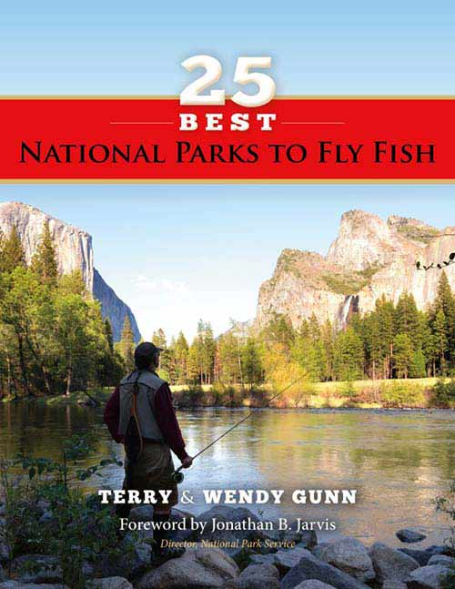 Cover of 25 Best National Parks to Fly Fish