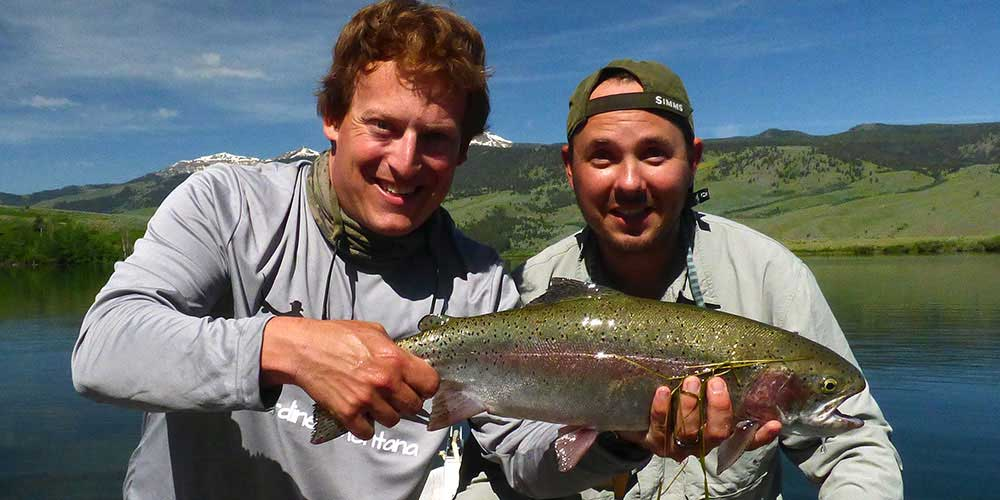 Huge Merrell Lake Rainbow