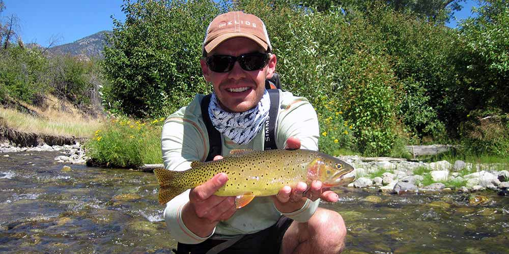 Small creek, big cutthroat
